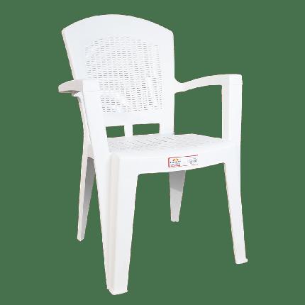 Кресло Irak Plastik Afrodit белое, фото 2