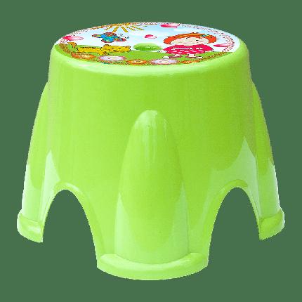 Табурет Irak Plastik Ton Ton №1 зеленый, фото 2