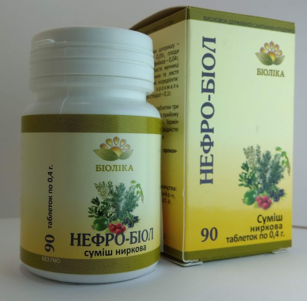 «Нефро-биол» при почечно-каменной болезни, пиелонефритах, циститах