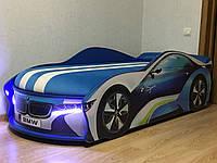 Кровать машина с подсветкой Bmw space круиз