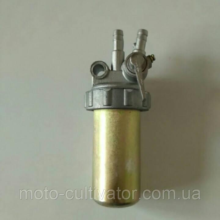 Топливный кран стакан железный R190
