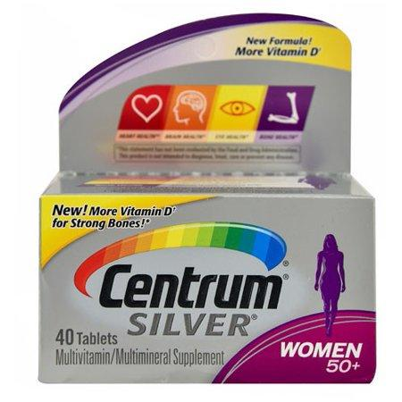 Phizer Centrum  Silver Women 50+, 40 табл
