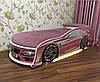 Кровать машина Bmw розовая