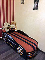 Кровать машина Комаро чёрная