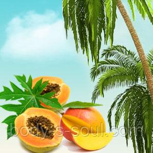 Косметическая отдушка для мыла, свечей, косметики ручной работы папайя, гуава, манго, про-во США