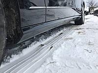 Накладка порога левая Mercedes e-class w212 , фото 1