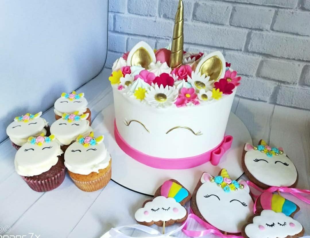 Торт Единорог 3