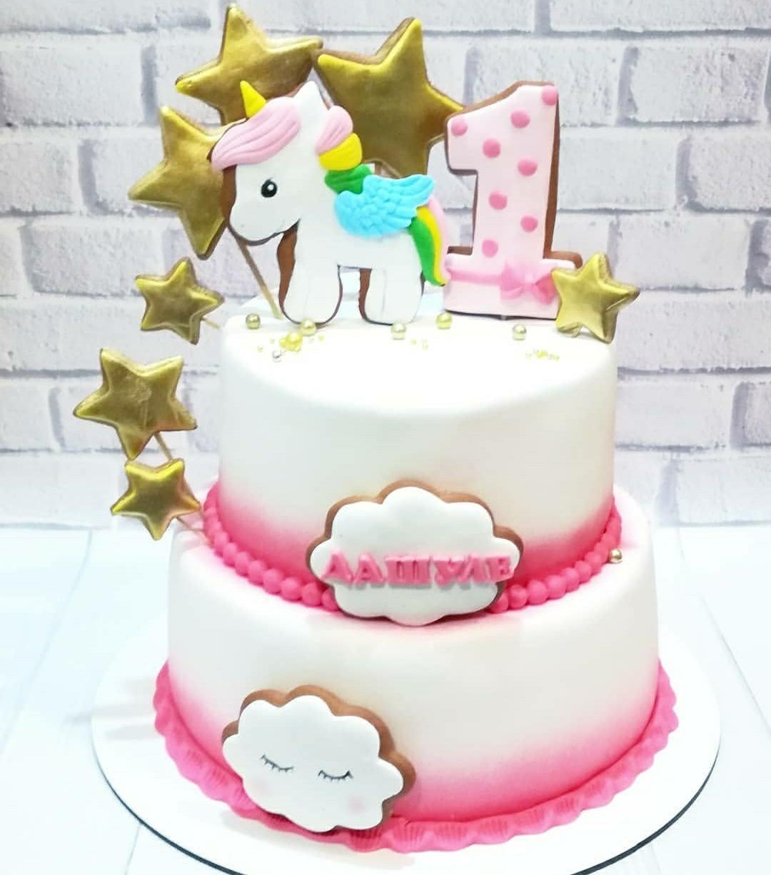 Торт Единорог 4