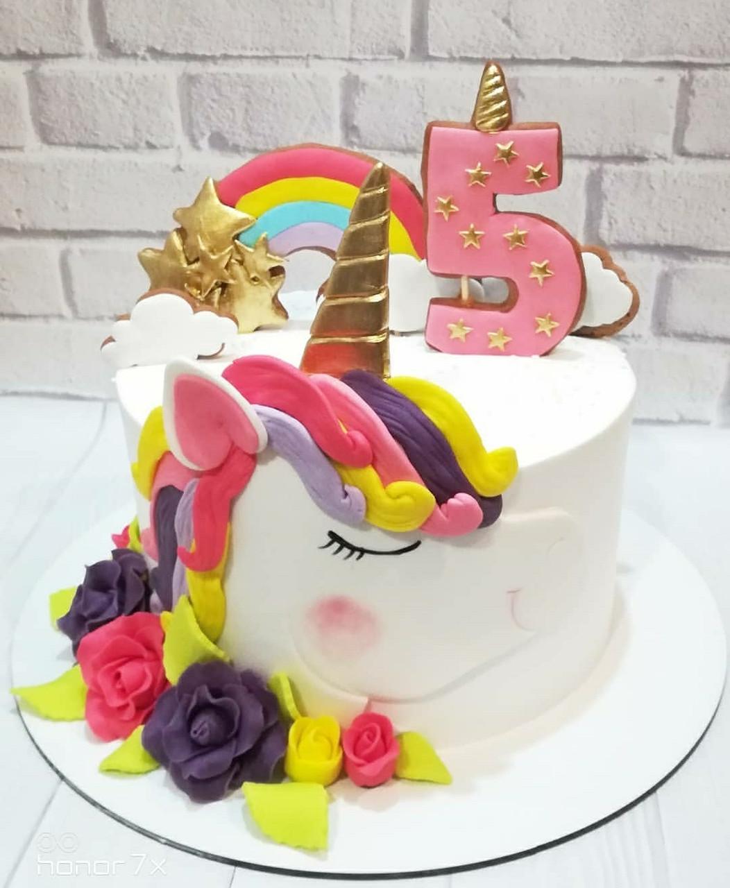 Торт Единорог 2