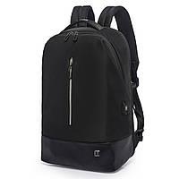 Рюкзак Casual с накидкой от дождя черный