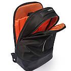 Рюкзак Casual с накидкой от дождя серый, фото 7
