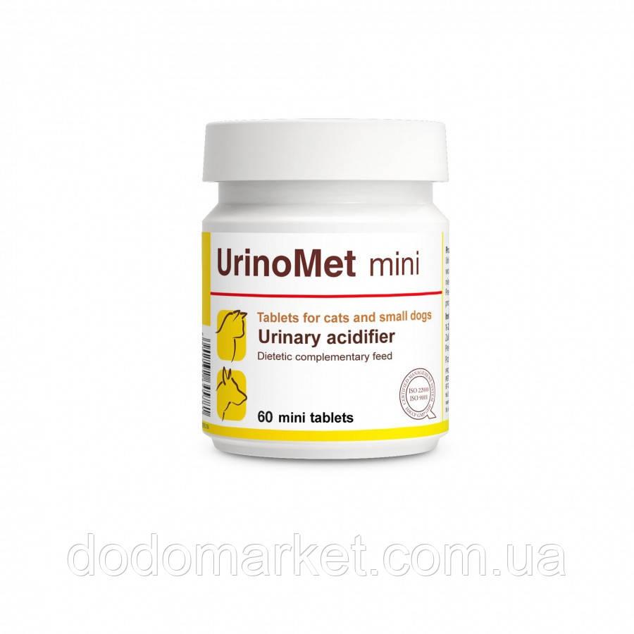 Регулятор кислотности мочи у мини собак и кошек Dolfos UrinoMet mini 60 таблеток