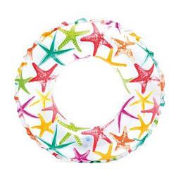 Детский надувной круг для плавания Intex 59230 «Звездочка», 51 см