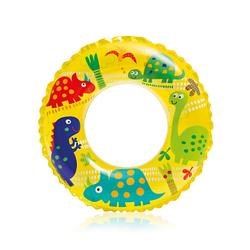 Детский надувной круг для плавания Intex 59242 «Динозаврики», 61 см