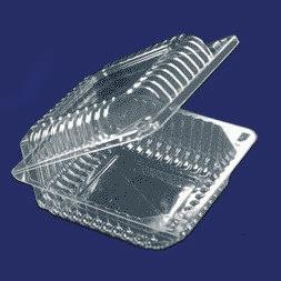 Упаковка пластиковая, квадратная Ланч-Бокс 130*130, h-46