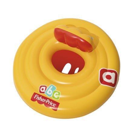 Надувной круг для плавания Bestway 93518 69 см «Fisher Price», с сиденьем и спинкой