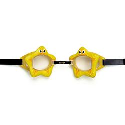 Детские очки для плавания Intex 55603 «Звездочка», желтый, от 3 лет