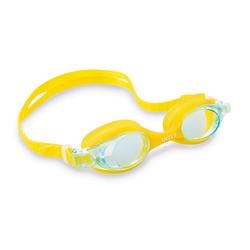 Детские очки для плавания Intex 55693, желтые, от 3 лет