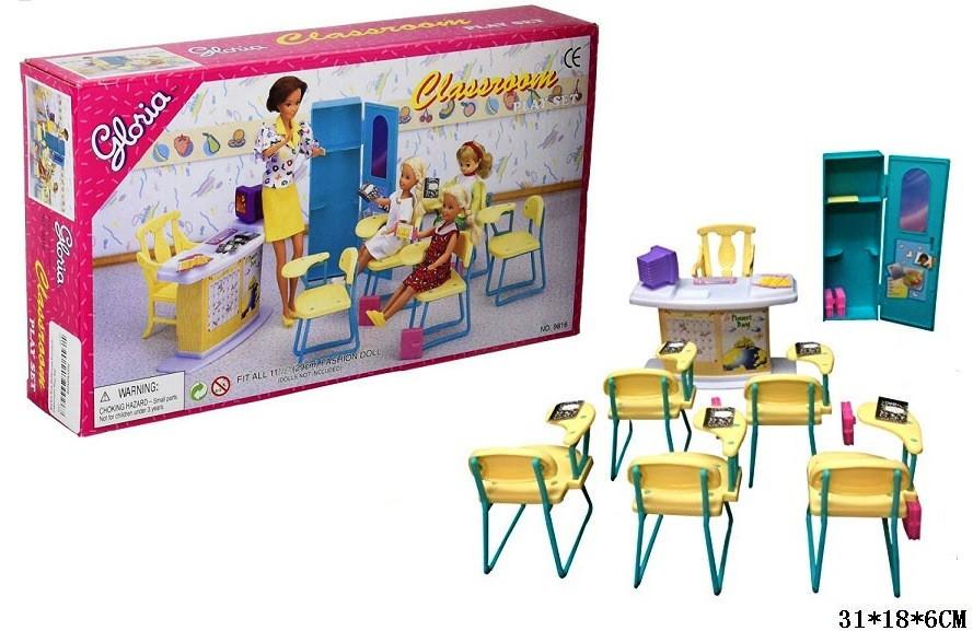 Кукольная мебель Глория Gloria 9816 Современная школа