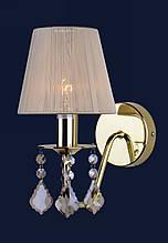 Классическое бра на одну лампочку 720W4001GD-1GD IVORY