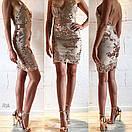 Платье с пайеткой на тонких регулируемых бретелях, фото 6