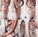 Платье с пайеткой на тонких регулируемых бретелях, фото 7