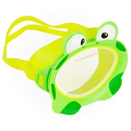 Маска для плавания Intex 55910, зеленая, от 3 лет