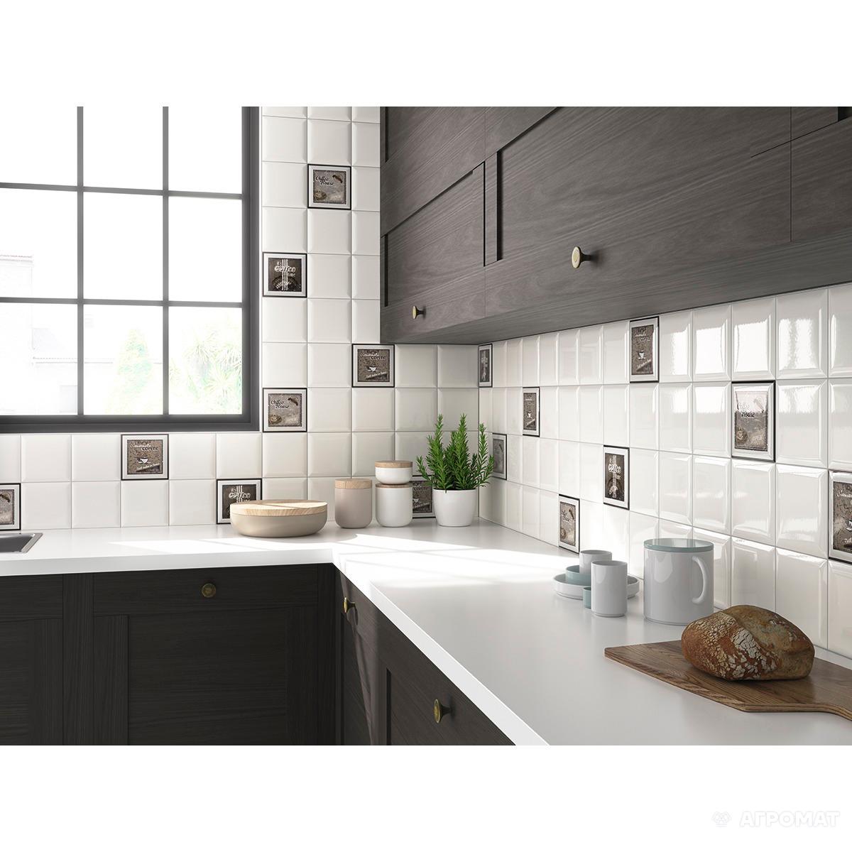 Плитка Monopole Ceramica Kitchen MOCA ARABICA декор АРТ.(284587)