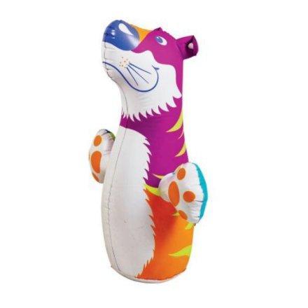 Детская надувная игрушка - неваляшка Intex 44669 «Тигр», 98 х 44 см