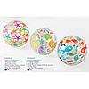 Надувной мяч Intex 59040 «Морские звездочки»  для игры на воде, 51 см, фото 5