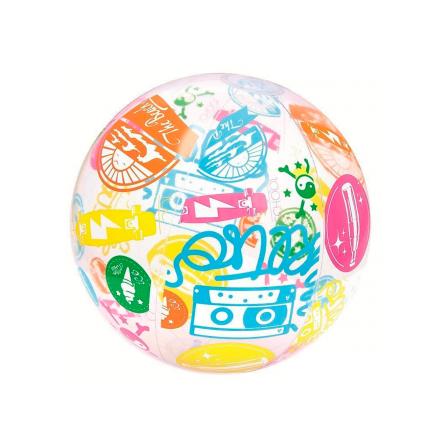 Надувной мяч Bestway 31001 «Лого» для игры на воде, 61 см