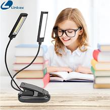 Світлодіодна USB лампа для читання на прищіпці 150LM