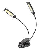 Светодиодная USB лампа для чтения на прищепке 150LM, фото 3