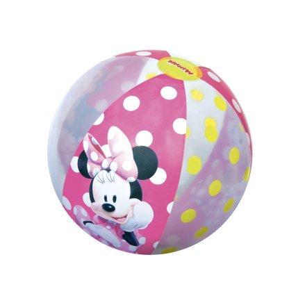 Надувной мяч Bestway 91039 «Minnie Mouse» для игры на воде, 51 см