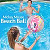 Надувной мяч Bestway 91039 «Minnie Mouse» для игры на воде, 51 см, фото 5