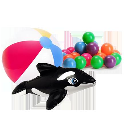 Набор для подводной игры Intex 55507 «Подводные рыбные кольца»