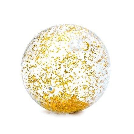 Надувной пляжный мяч Intex 58070 «Золото» для игр на воде, 71 см