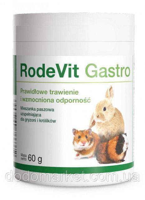 Витамины для пищеварения кроликов и грызунов 60 гр Dolfos RodeVit Gastro