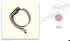 Ремешок Xiaomi Mi Band 4 / 3 MiJobs Nylon нейлоновый / тканевый Розовый / Серый [1906], фото 2