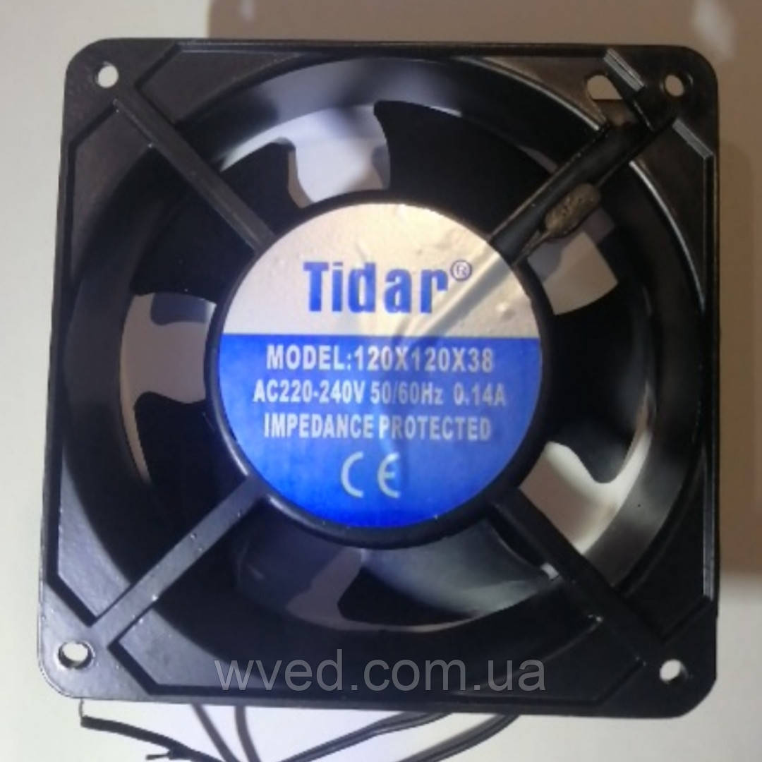Вентилятор для инкубатора 220В 120*120