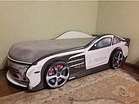 Кровать машина Мерседес белый, фото 1