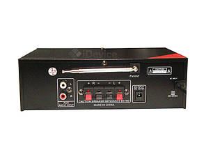 Усилитель звука UKC SN-222BT Bluetooth, USB, фото 2