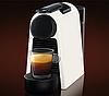 Капсульна кавоварка Nespresso Essenza Mini D30 White + Капучинатор Nespresso Aeroccino 3, фото 2
