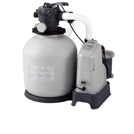 Песочный насос с хлоргенератором Intex 28676, 6 000 л/ч хлор 7 г/ч
