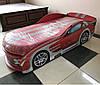 Ліжко машина Мерседес червоний