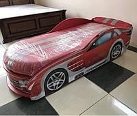 Ліжко машина Мерседес червоний, фото 1