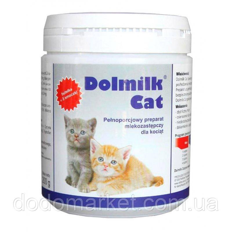 Заменитель молока для котят Dolfos Dolmilk Cat