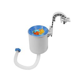 Скиммер для бассейна навесной поверхностный Intex 28000 (58949), от фильтр-насоса 3 028л/ч