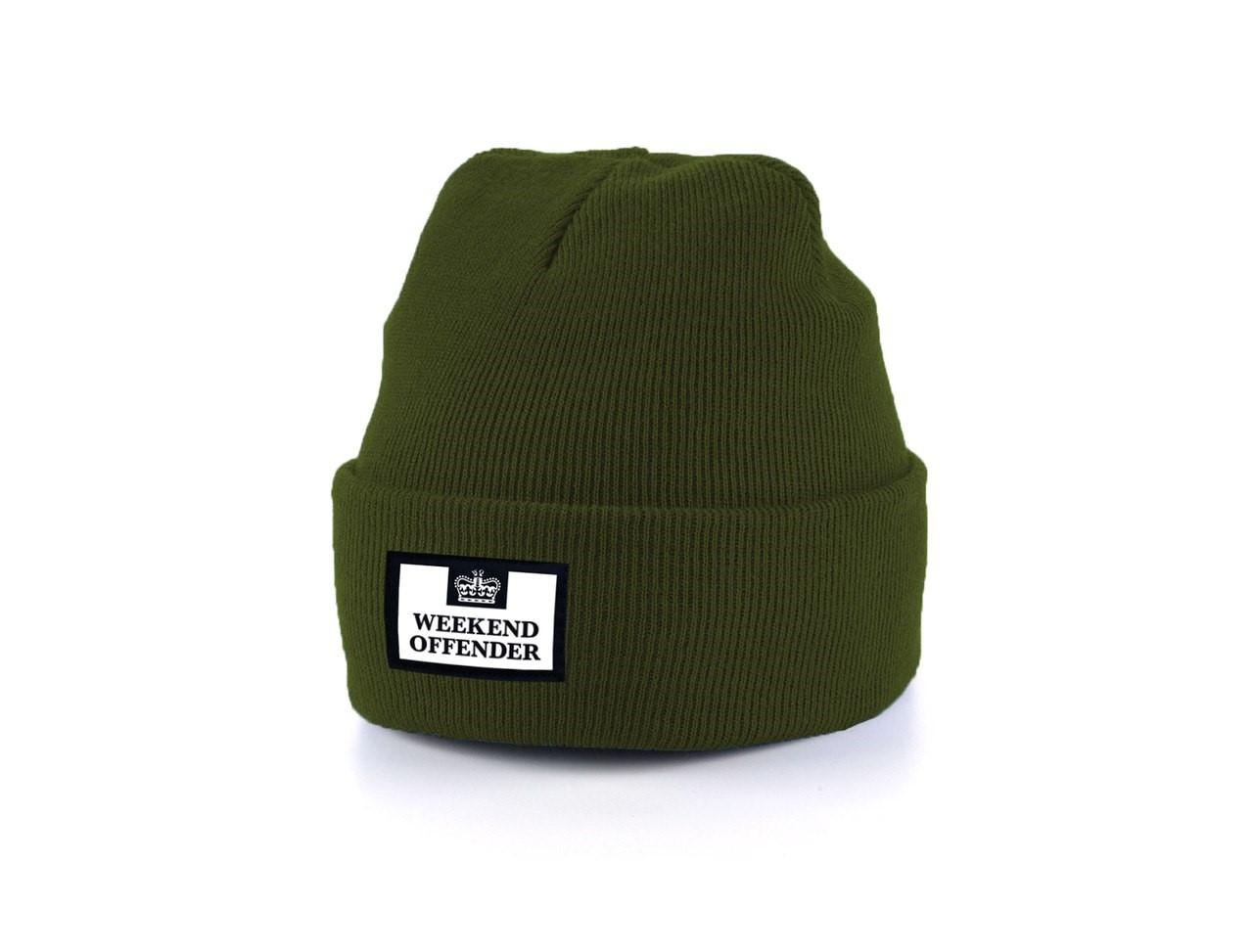 Мужская теплая шапка Weekend Offender универсальный размер