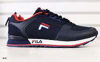 Кроссовки Fila темно-синие, фото 1